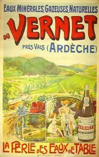vernet art nouveau poster