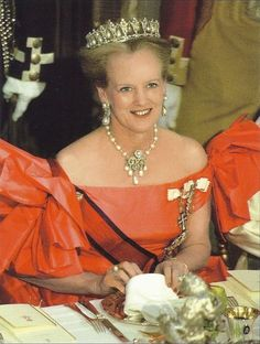 Queen Margrethe II of Denmark is queen regnant of Denmark as successor to her…