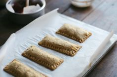 Cranberry & Orange Zest Pop Tarts with Ginger Glaze / dolly and oatmeal