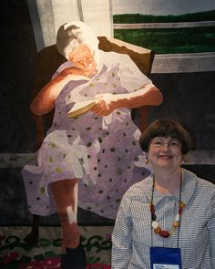 'Grandma Maude' by Mary Arnold at Quilt National 2015