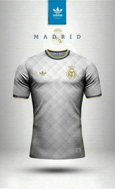 d6fede2cf2 Real Madrid adidas vintage shirt Equipamentos Desportivos
