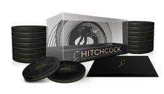 El Pack 'Hitchcock' nos trae las películas del maestro del suspense restauradas alta definición y presentadas en exclusivas latas.Además incluye un libreto, postales con los carteles de cine y mucho más material adicional. Esta es la primera vez que estos títulos están juntos en un mismo pack en alta definición junto a 19 horas de extras.