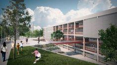 Projeto também conta com área de 58.700 m² de paisagismo e praça aberta à população