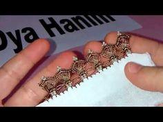 Kum boncuklu kalem oyası yapılışı - YouTube
