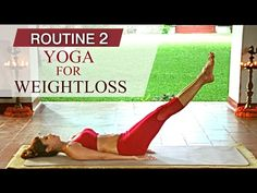 Yoga for Weight Loss - The Shilpa's Yoga Destress Programme - YouTube