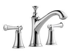 Two Handle Widespread Lavatory Faucet - Less Handles : 65305LF-PCLHP HL505-PC : Baliza : bath : Brizo