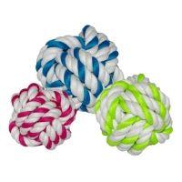 Jouet pour chien - Balles tressées en cordes