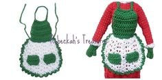 Crochet Mrs. Barbie Claus' Apron Pattern