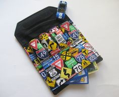 The ORIGINAL Car Wallet with Pocket holds 4  by MyHappyHobbies, $14.00