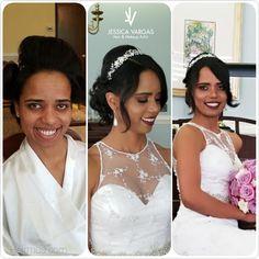 Before and After  Hair and Makeup @jessicahairmua Hairmua.com  #wedding #bride #bridesmaid #love #weddingdestination #northcarolina #makeup #hair #jessicahairmua