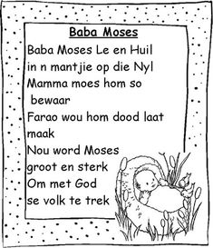 Kids Poems, Children Songs, Afrikaans Language, School Songs, Rhymes For Kids, Spanish Lessons, Humor, Foreign Languages, Education Quotes