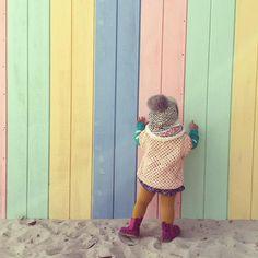 View from he back of the crochet poncho I finished last night for my little girl What do you think if add this  to my #etsy store soon? #auspinners #cottonblend #etsyhandmade #shopetsy #etsyau #etsymlm #etsyshop #handmadeinmelbournehandmade #instayarn #instacraft #instacrochet #crochetaddict  #craftsposure #customorder #crochetgeek #craft #abmcrafty  #crochetbaby #crochetconcupiscence #crochetaddict #crochetgarment #grannysquare #craftastherapy #abmcrafty #crochet #etsysuccess  #shopmadeit…
