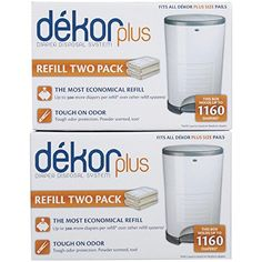 Diaper Dekor Plus Refill  4 Pk -- Check out the image by visiting the link. (Note:Amazon affiliate link)