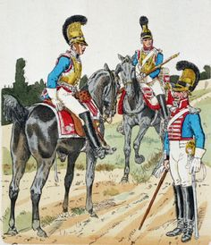 Bavarian Cuirassiers 1809