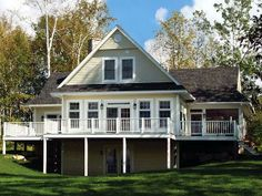 House Plan 65380 | Coastal Country Craftsman Hillside Traditional Vacation Plan with 1832 Sq. Ft., 3 Bedrooms, 2 Bathrooms at family home plans