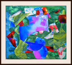 MaryMaking: Mixed Media Abstract Collage