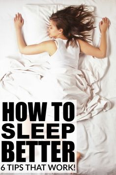 We've all been there before – tossing and turning until the wee ours of the night because we can't get something off our minds - but thanks to this collection of tips to teach you how to sleep better, you can bid adieu to sleepless nights forever!