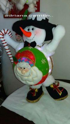 Christmas Balls, Christmas Tree, Christmas Ornaments, Snowman Crafts, Easter Crafts, Elf On The Shelf, Santa, Dolls, Holiday Decor