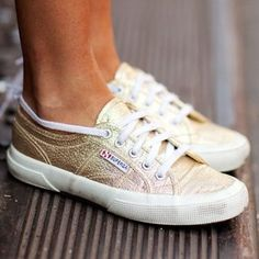 Gold Cotu Classics by Superga