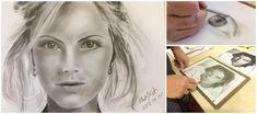 A portré rajzolás 9 titkos trükkje, amit még a suliban sem mind tanítanak! Tedd tökéletesebbé rajzodat Te is olyan egyszerű módszerekkel, mint... Female, Tattoos, Drawings, Tatuajes, Tattoo, Sketches, Drawing, Portrait, Draw