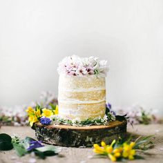Naked Coconut Tres Leches Cake by @Beth | {local milk} }, featured on @Lonny Magazine