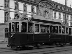 Altes Tram von Bern