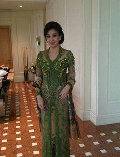 Ellegant Green Kebaya by House of Vera