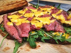 Flat Iron Steak Sandwich mit Joppiesauce
