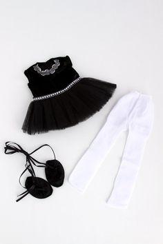 Black Swan Doll Clothes for 18 inch von DreamWorldCollection