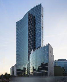 Palazzo Lombardia (Милан, 2011 - Pei Cobb Freed & Partners Architects LLP, SD партнеров, Капуто партнерство