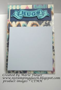 NJ Stamping Queen: Post-it Note Holder for Close To My Heart New Product Blog Hop