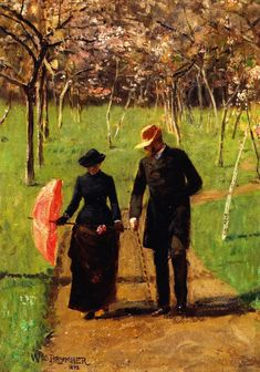 Brymner, William, (1855-1925), In the Orchard, 1892