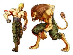 Gado ( the lion) - Beastorizer, bloody roar (playstation)