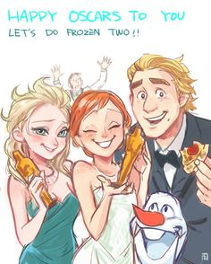 Frozen two? really? —————— A-KA(Sorry I spelled a word wrong)