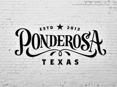 Ponderosa Script designed by Scott Greci. Inspiration Typographie, Typography Inspiration, Graphic Design Inspiration, Graphic Design Typography, Lettering Design, Branding Design, Logo Design, Vintage Typography, Typography Letters