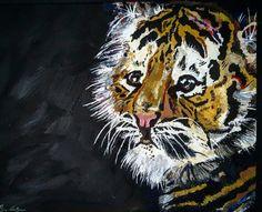 A Tiger's Youth  Print by ShaysArtShop on Etsy