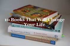10 Books That Will Change Your Life