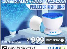 Romantic Ocean Waves Projector Night Lamp Speaker at naaptol.com Night Lamps, Ocean Waves, Romantic, Shopping, Waves, Romance Movies, Romances, Romantic Things, Beach Waves