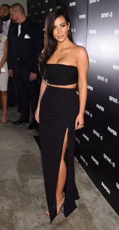 kim-kardashian-J-Mendel-Long-High-Slit-Silk-Skirt.jpg 300×581 pixels