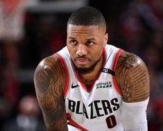 Basketball Tattoos, Live Tattoo, Tattoo For Son, S Tattoo, Portland Trail Blazers, Damian Lillard, Oakland Raiders, Providence Tattoo, Biceps