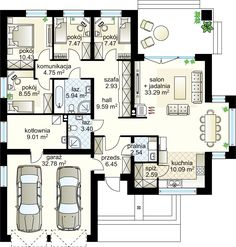 Haus Sweet Home for me 4 Seasons design - Ground floor m² + garage m² The Japanese Art House Plans Mansion, House Floor Plans, Sweet Home, Tropical Houses, Modern Materials, Architecture, Ground Floor, Entryway Decor, My Dream Home