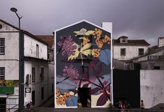 """Vascular Endemism"", a new mural by Pastel in Azores, Portugal"