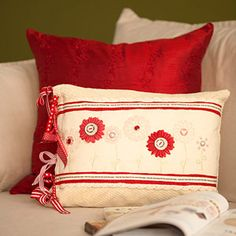 Stamped Pillow Sham