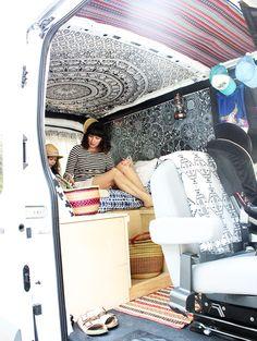 a peek inside the van project