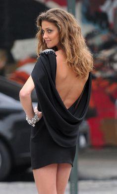 daring little black dress