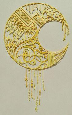 名刺作り 月|コトコト切り絵中                                                                                                                                                                                 もっと見る