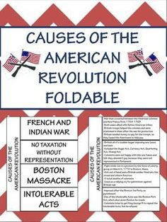 the American Revolution (FREE Foldable, Interactive Notebook)Causes of the American Revolution (FREE Foldable, Interactive Notebook) American Revolution Timeline 6th Grade Social Studies, Social Studies Classroom, Social Studies Activities, Teaching Social Studies, Teaching History, History Classroom, History Education, Causes Of American Revolution, American History Lessons