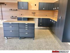 RedLine Garagegear manufactures the finest custom garage cabinets in the industry. From our durable powder-coated finish Garage Workshop Organization, Garage Storage Systems, Garage Storage Cabinets, Diy Garage Storage, Diy Garage Shelves, Garage House, Garage Walls, Garage Renovation, Garage Interior