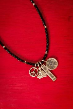 Make yourself a charm necklace! Found this picture in Earthbound's Facebook page!