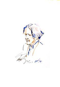 Goran Bregovic watercolor